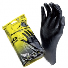 Black Mamba Torque Grip Nitrile Gloves Size: Large 10 pcs