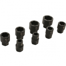 "Damaged Nut/Bolt Remover 3/8""D 8pc"