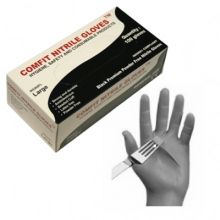 Nitrile Disposable Gloves. Heavy Grade. Size XL.