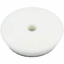 Stage 1 Beveled Edge Velcro White Pad 150mm